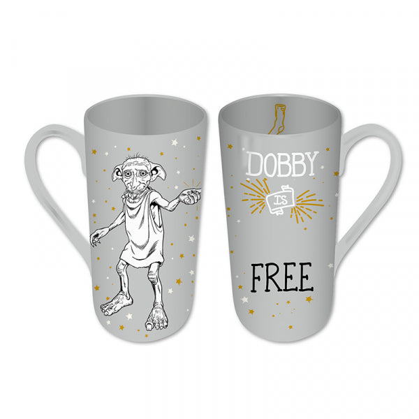 HARRY POTTER DOBBY HEAT CHANGING LATTE MUG