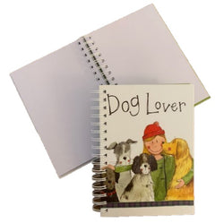 DOG LOVER SPIRAL NOTEBOOK