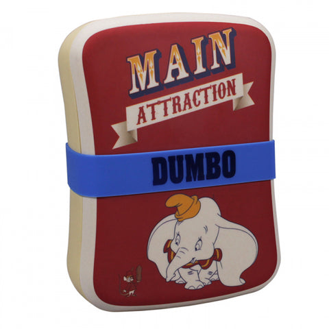 DUMBO MAIN ATTRACTION BAMBOO LUNCH BOX