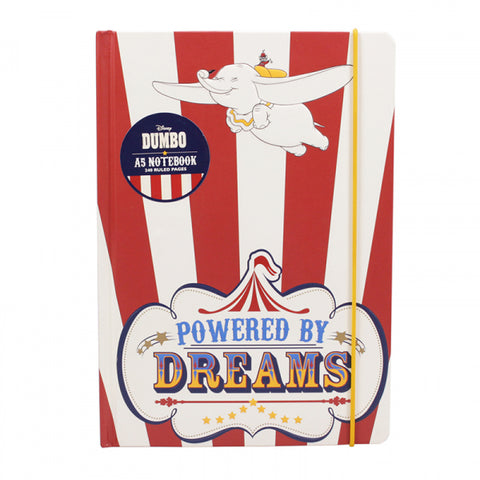 DUMBO POWERED BY DREAMS A5 NOTEBOOK