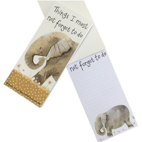 ELEPHANT TO DO LIST MAGNETIC NOTE PAD