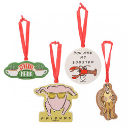 FRIENDS DECORATIONS SET OF 4