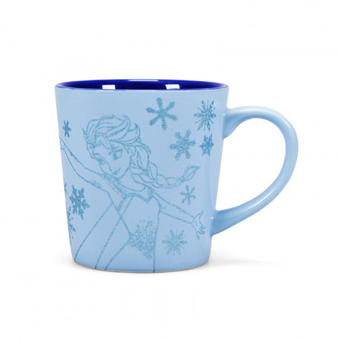 FROZEN ELSA SNOW QUEEN TAPERED MUG