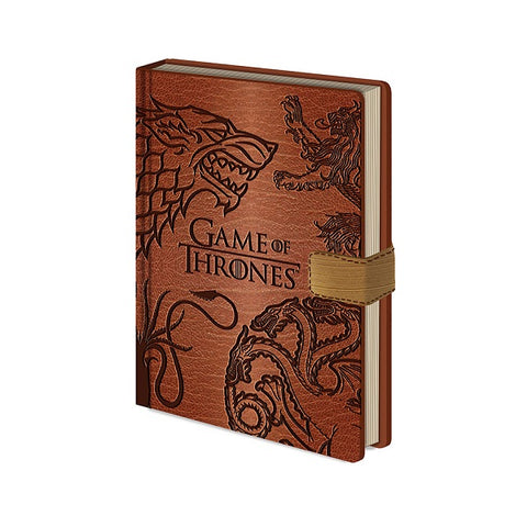 GAME OF THRONES SIGILS PREMIUM NOTEBOOK