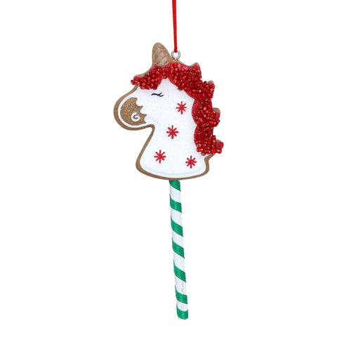 Gingerbread Hobby Horse Decoration