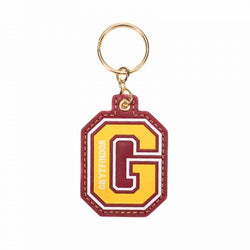 HARRY POTTER G FOR GRYFFINDOR KEYRING