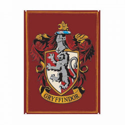 HARRY POTTER GRYFFINDOR CREST SMALL METAL SIGN
