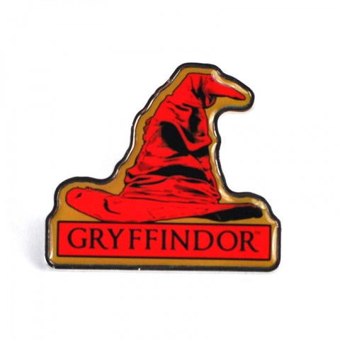 HARRY POTTER SORTING HAT HOUSE BADGES