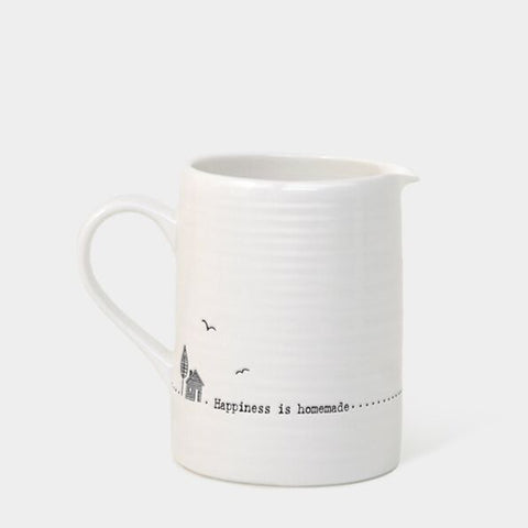 'HAPPINESS IS HOMEMADE' SMALL JUG