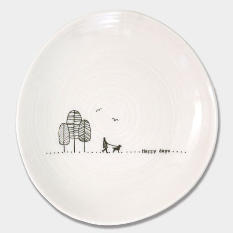 'HAPPY DAYS' WOBBLE PLATE