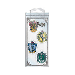HARRY POTTER HOUSE CREST ERASER SET