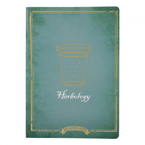 HARRY POTTER HERBOLOGY LARGE EXERCISE BOOK