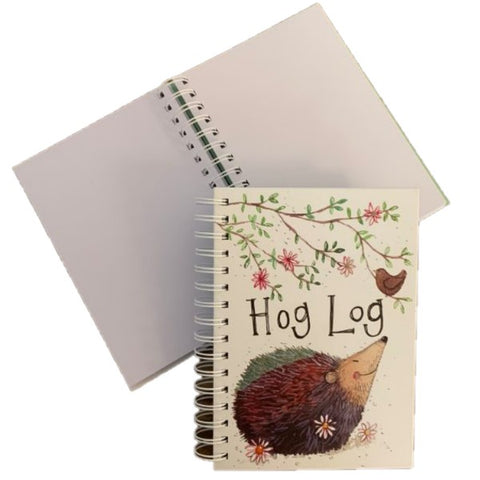 HOG LOG SPIRAL NOTEBOOK
