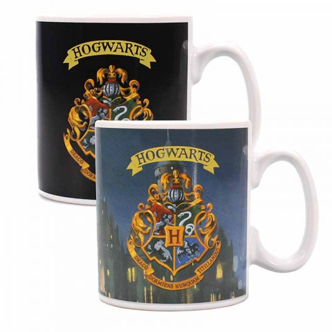 HARRY POTTER HOGWARTS CREST HEAT CHANGING MUG