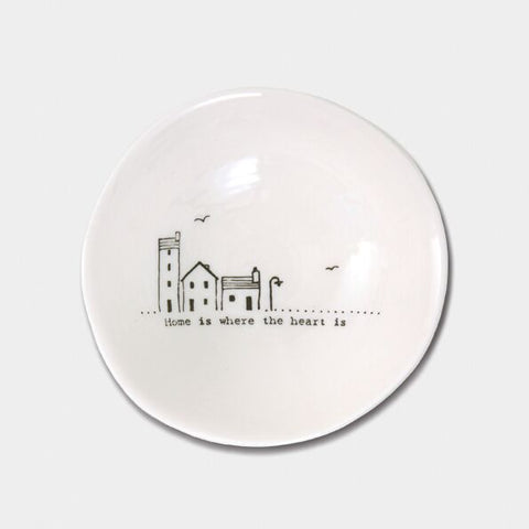 'HOME IS WHERE THE HEART IS' WOBBLE BOWL