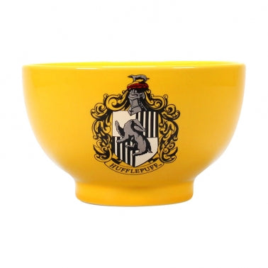 HARRY POTTER HUFFLEPUFF CREST BOWL