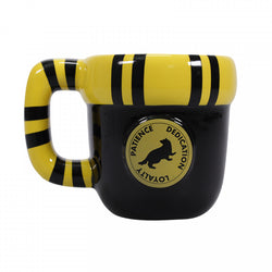 HARRY POTTER HUFFLEPUFF SHAPED SCARF MUG