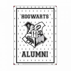 HARRY POTTER HOGWARTS ALUMNI SMALL METAL SIGN