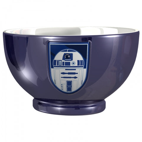 STAR WARS R2 D2 EMBOSSED METALLIC BOWL