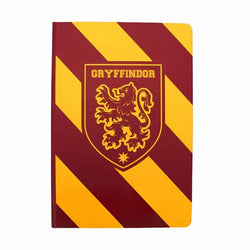 HARRY POTTER GRYFFINDOR STRIPE A5 NOTEBOOK