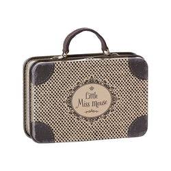 LITTLE MISS MOUSE METAL TRAVEL SUITCASE