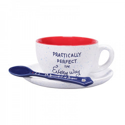 MARY POPPINS PRACTICALLY PERFECT CUP AND SAUCER SET