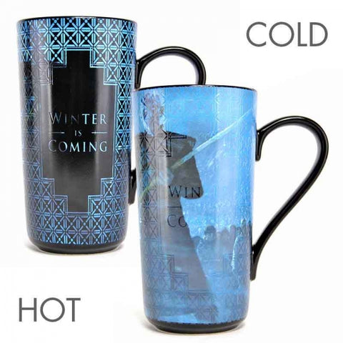 GAME OF THRONES HEAT CHANGING LATTE MUG