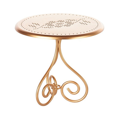 GOLD VINTAGE COFFEE TABLE