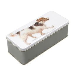 JACK RUSSELL STORAGE TIN