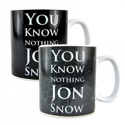 GAME OF THRONES JON SNOW HEAT CHANGE MUG