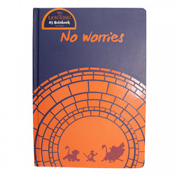 THE LION KING A5 NO WORRIES NOTEBOOK