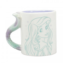DISNEY PRINCESS ARIEL FLIPPIN AWESOME SHAPED MUG