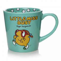LITTLE MISS BUSY TAPERED MUG