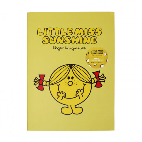 LITTLE MISS SUNSHINE EXERCISE NOTEBOOK