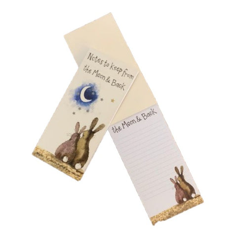 MOON AND BACK TO DO LIST MAGNETIC NOTE PAD