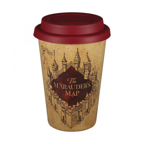 HARRY POTTER MARAUDERS MAP HUSKUP TRAVEL MUG
