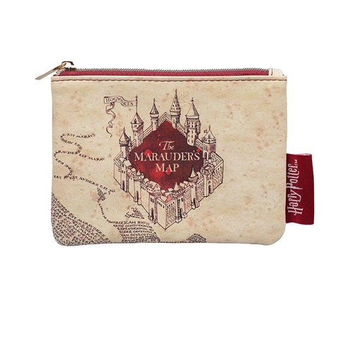Harry Potter Marauders Map Coin Purse