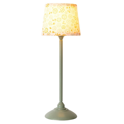 Maileg Miniature Floor Lamp - Mint