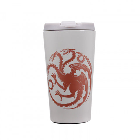 GAME OF THRONES KHALEESI MOTHER OF DRAGONS TRAVEL MUG
