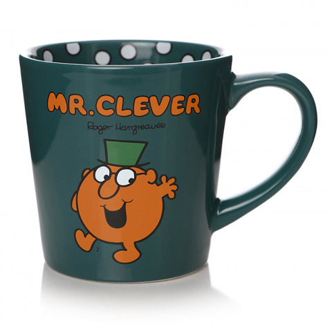 MR CLEVER TAPERED MUG