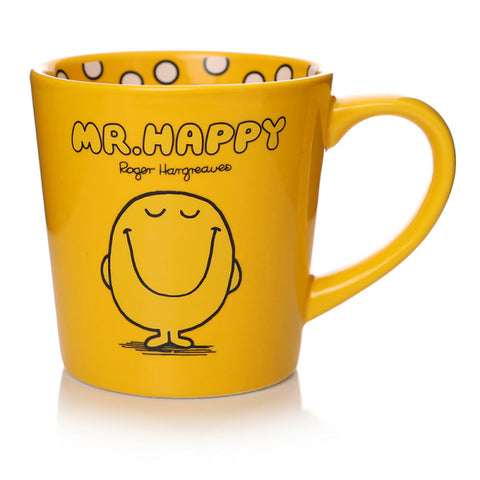 MR HAPPY TAPERED MUG