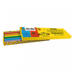 MR MEN LITTLE MISS SET OF 6 PENCILS