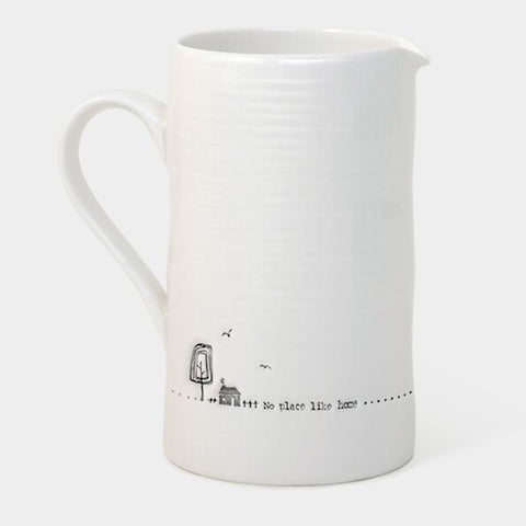 'NO PLACE LIKE HOME' WOBBLE LARGE JUG