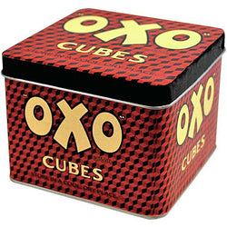 OXO CUBES TIN