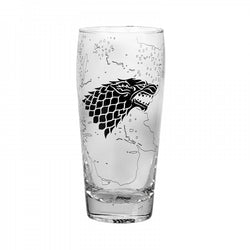 GAME OF THRONES STARK LARGE GLASS