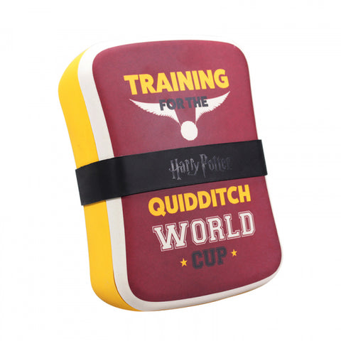 HARRY POTTER QUIDDITCH BAMBOO LUNCH BOX