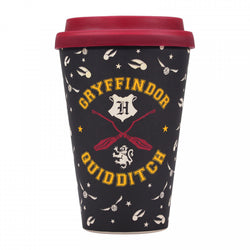 HARRY POTTER QUIDDITCH BAMBOO TRAVEL MUG