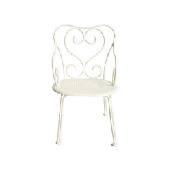 MAILEG MINI ROMANTIC CHAIR, OFF WHITE