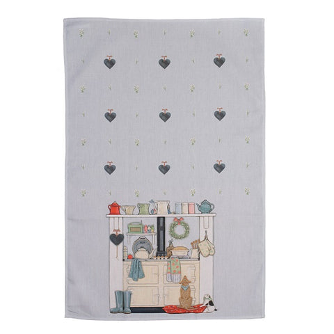 DOMESTIC GODDESS TEA TOWEL