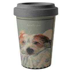 SCRUFFY LOVE TRAVEL MUG